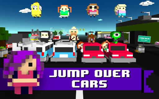 Chicken Jump - Crazy Traffic screenshot 1