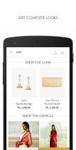 AJIO Online Shopping App Screenshot