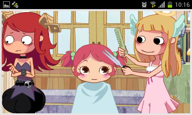 Jogos de cabeleireiro screenshot 1