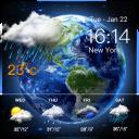 Digital clock &weather widget  ⛅