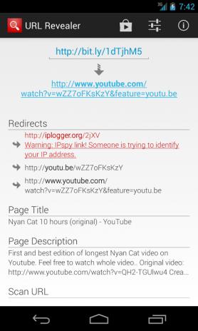 URL Revealer 1 1 2 Download APK for Android - Aptoide