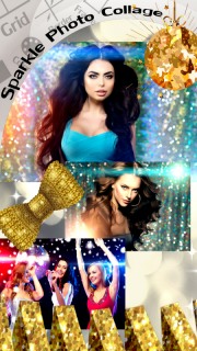 Sparkle Photo Collage screenshot 2