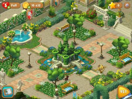 Gardenscapes screenshot 4