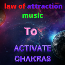 law of attraction music to activate chakras