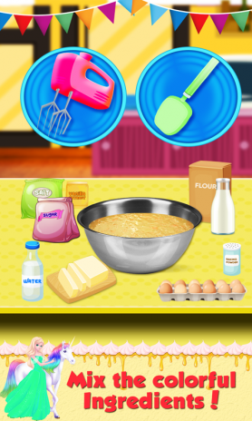 Real Birthday Cake Maker A Sweet Cooking Game Screenshot 2