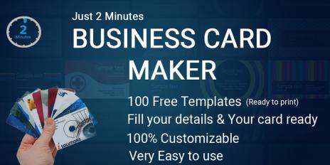 business card maker visiting card maker photo logo screenshot 14