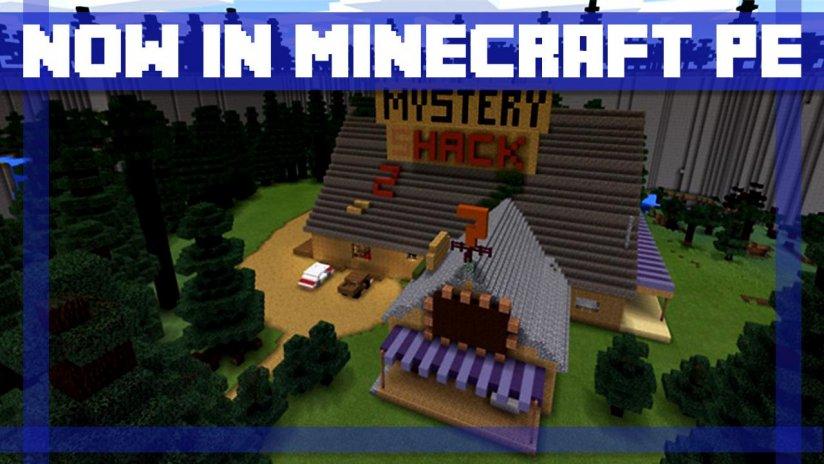 Karte Minecraft.Karte Mod Gravity Falls Fur Mcpe 1 0 Laden Sie Apk Fur