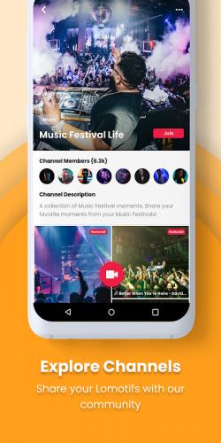 Lomotif: Social Video Platform screenshot 1