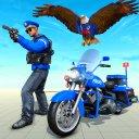 US Police Eagle Gangster Chase Crime Shooting Game
