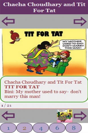 Chacha Chaudhary and Tit For Tat 1 0 Download APK for