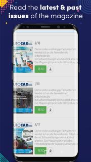AUTOCAD & Inventor Magazine screenshot 1