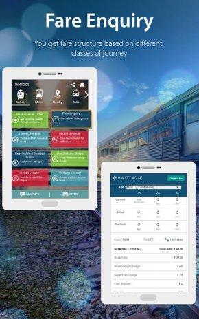 ... Indian Rail IRCTC PNR, Train Running Status Info apk screenshot ...