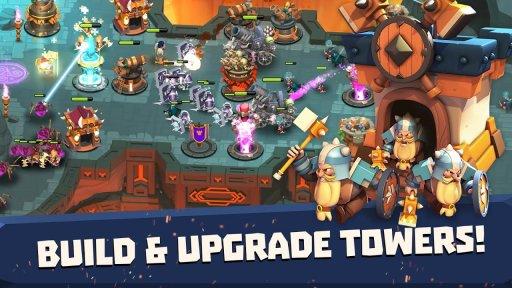 Castle Creeps TD screenshot 2