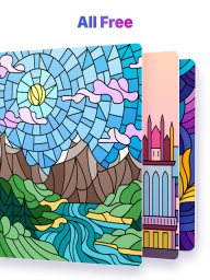 Paint by Numbers: New Colouring Pictures Book Free screenshot 10