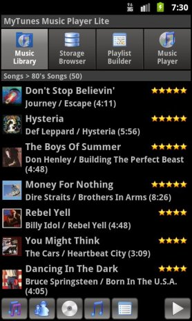 MyTunes Music Player Lite 2 2 Download APK for Android - Aptoide