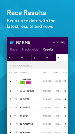 Formula E App 3 0 32 Download APK for Android - Aptoide