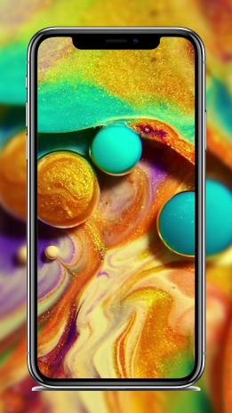 4k Dynamic Liquid Wallpaper For Iphone X 10 Download Apk
