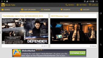 Movie Tube EX Screenshot
