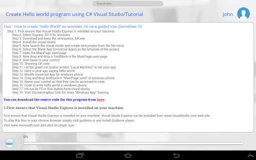 Learn Windows Programming(C#) 1 0 Download APK for Android - Aptoide