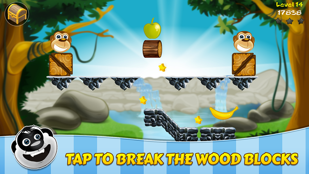 Banny Sammy - Super Cute Food Animal Puzzle screenshot 2