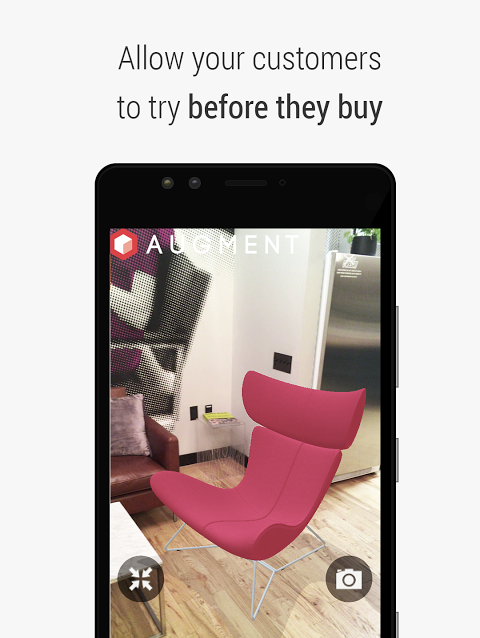 Augment - 3D Augmented Reality screenshot 2