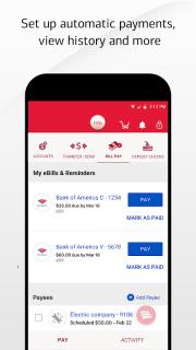 Bank of America Mobile Banking screenshot 1