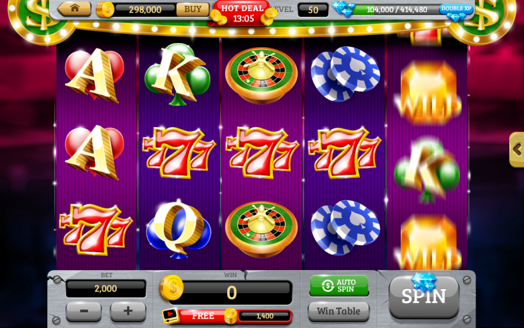 online casino site free spin game
