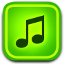 mp3 raptor download music icon