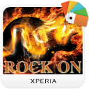 XPERIA™ Rock on Theme