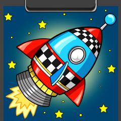 Astronot Buku Mewarnai 1 3 Unduh Apk Untuk Android Aptoide
