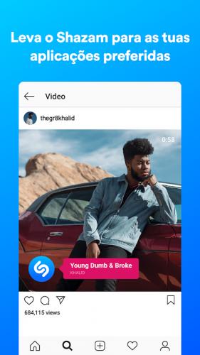 Shazam screenshot 2