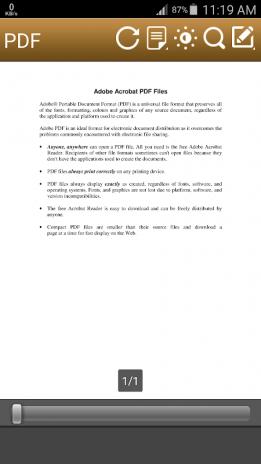 Best PDF Reader (Free Version) 2 0 Download APK for Android