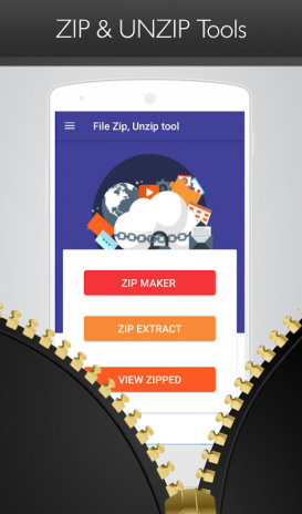 Free File Zip, Unzip Tool, File & Folder Extractor 1 4