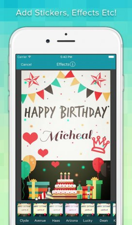 Birthday greeting cards maker 10 download apk for android aptoide birthday greeting cards maker screenshot 14 m4hsunfo