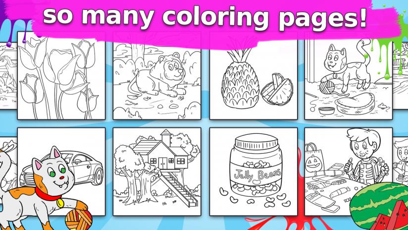 colorfun - libro para colorear para los niños 1.3.2 Descargar APK ...
