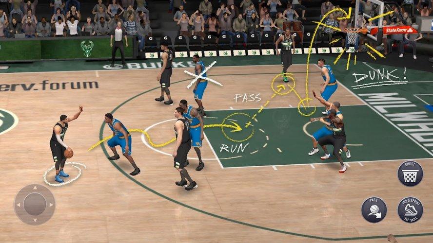 NBA LIVE Mobile Basketball screenshot 2