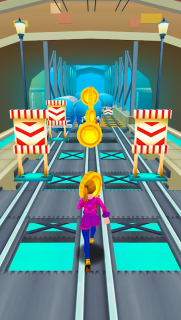 Subway Princess Surf - Endless Run screenshot 15