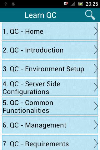 Learn QC (HP Quality Center) screenshot 1
