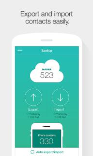 Naver Contacts & Dial screenshot 1