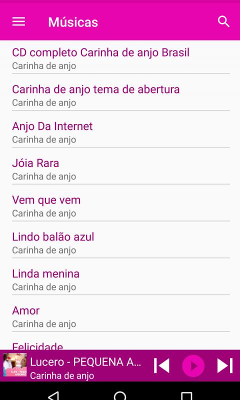 DE ABERTURA DE CARINHA MUSICA BAIXAR DE ANJO