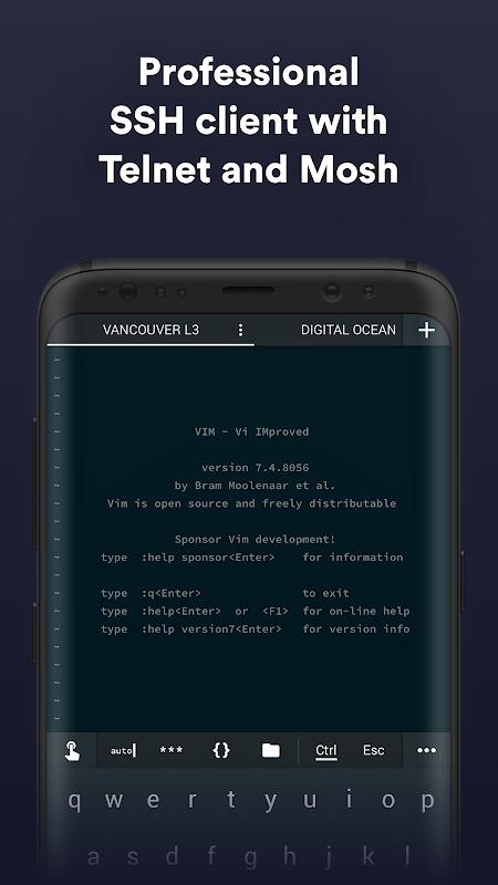 Termius - SSH/SFTP and Telnet client screenshot 1