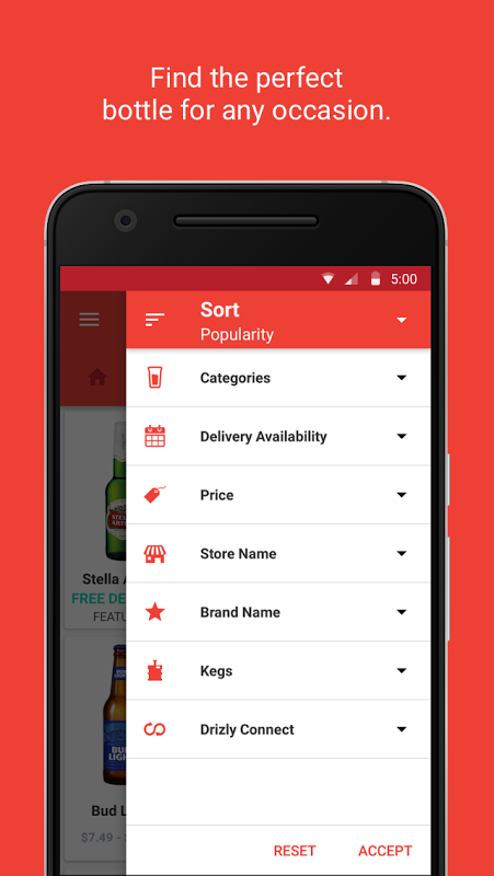 Drizly: Alcohol Delivery screenshot 2