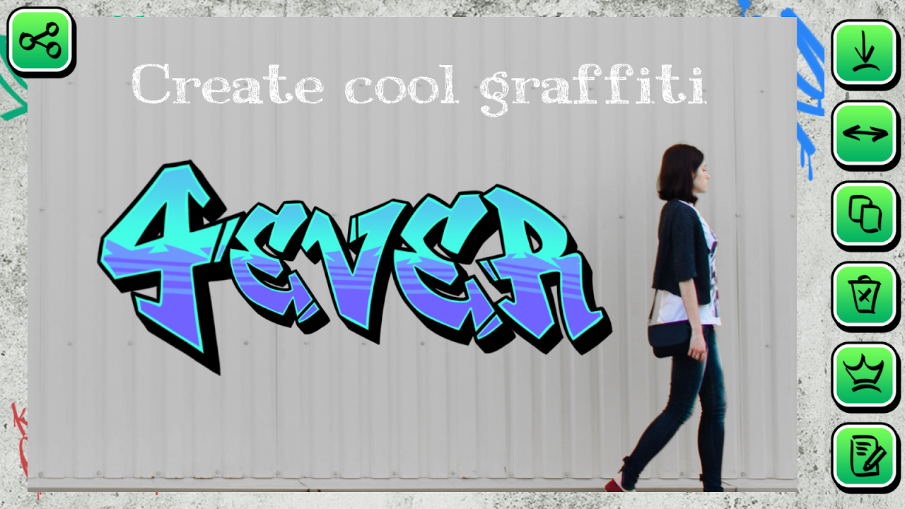 Graffiti creator on pictures 1 2 download apk para android aptoide