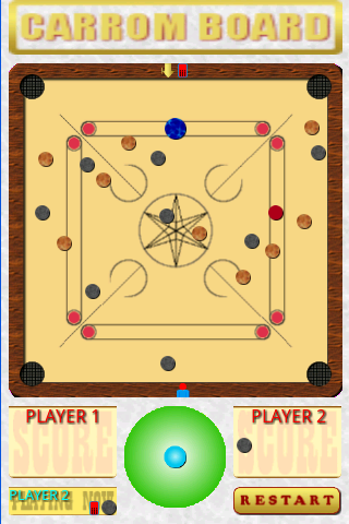 Carrom Board screenshot 2
