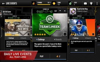 Madden Mobile Screenshot