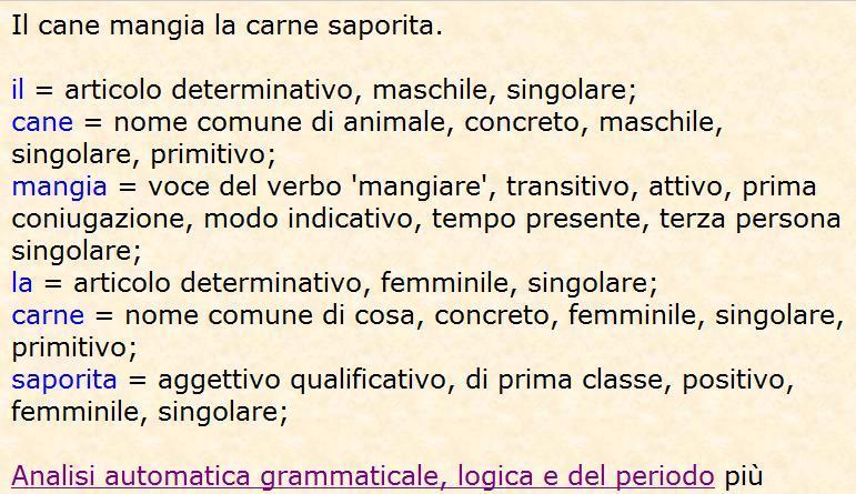 Analisi Grammaticale Gli Avverbi