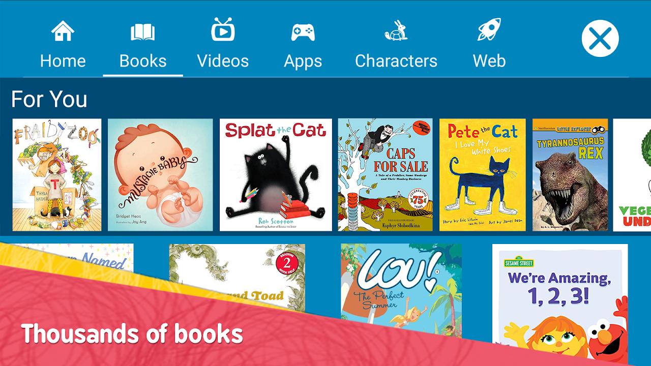Amazon FreeTime – Kids' Videos, Books, & TV shows screenshot 2