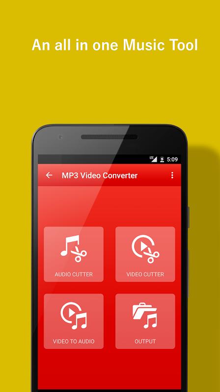 Video to  MP3 Converter screenshot 1