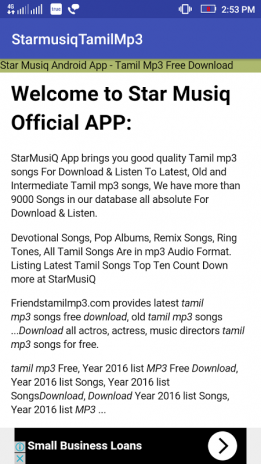 tamil mp3 music download app