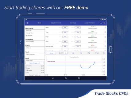 Plus500: CFD Online Trading on Forex and Stocks screenshot 13